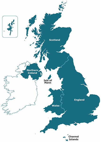 Map Of England 400 Ad.United Kingdom Of Great Britain Northern Ireland Crown